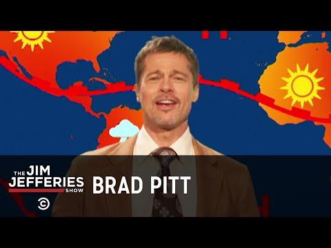 Brad Pitt Returns as the Weatherman - The Jim Jefferies Show