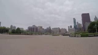 видео Букингемский фонтан в Чикаго