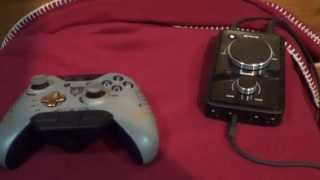 3.5 - 2.5mm Cable Explanation (Xbox One Stereo Chat Adapter + Astro MixAmp Pro)