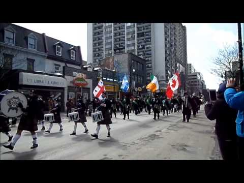 2015 March 22 Montreal St Patrick Parade 3