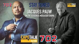 LIVE Jacques Pauw author of The Presidents Keepers joins Eusebius Mckaiser in studio