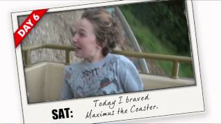 7 FOR 1 at Devon's Crealy. DAY SIX MAXIMUS COASTER.mpg