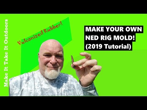 Make your own Ned Rig mold! Vulcanized rubber mold tutorial!