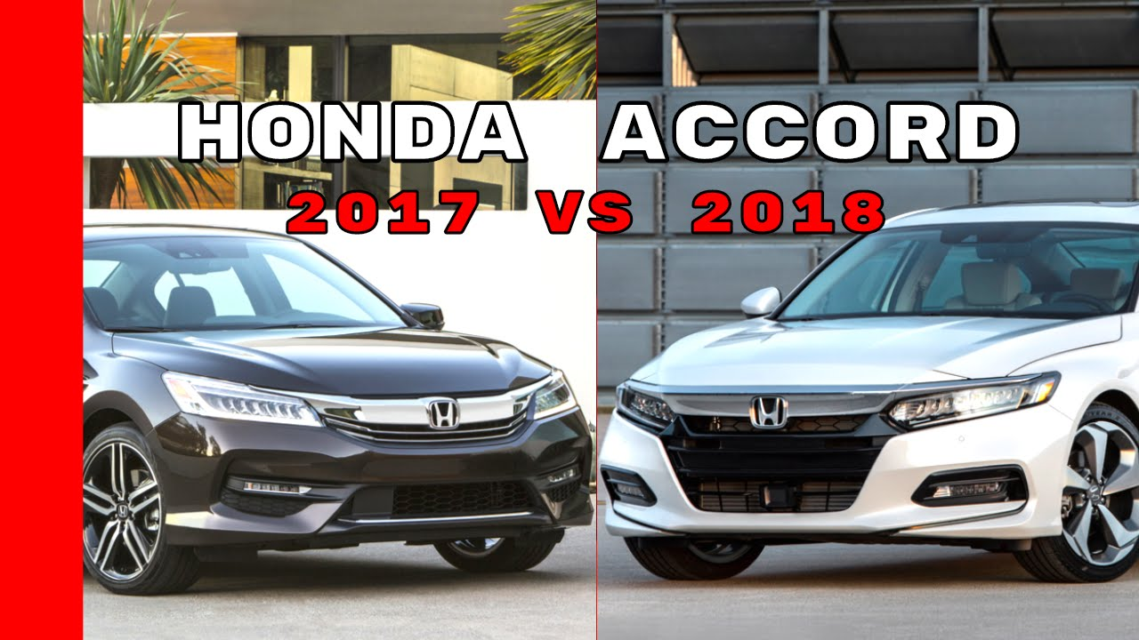 2018 honda sport accord.  2018 2018 honda accord vs 2017 intended honda sport accord
