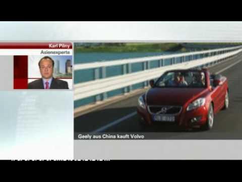 Interview mit Dr. Karl Pilny zum Volvo - Geely Deal (n-tv, 29.03.10)