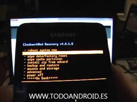 Como hacer root y ser superusuario del Samsung Galaxy S2 con 4.1.2 ...