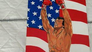 Rocky Balboa!! dibujando a Rocky Balboa!! drawing a Rocky Balboa!!