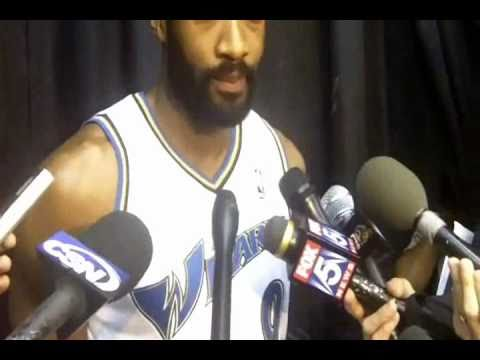Gilbert Arenas: From Wizard to Magic