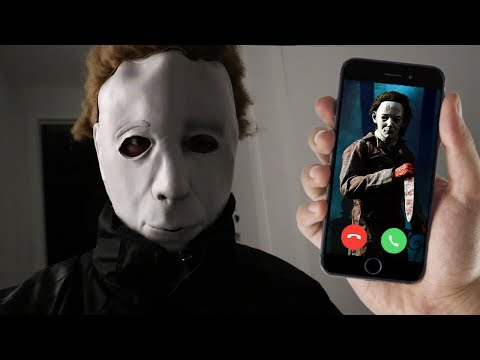 CALLING MICHAEL MYERS ON FACETIME AT 3 AM!! HE TOOK MY CAMERA!