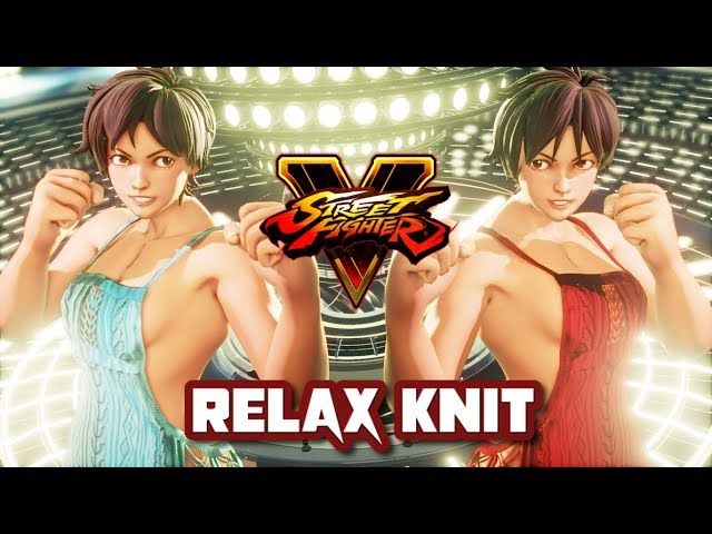 Street Fighter 5 mods Sakura Relax Knit outfit #1