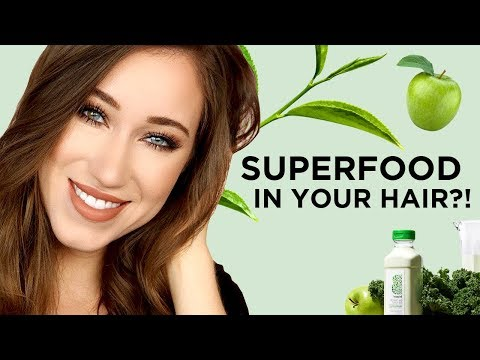 Allie Glines Put Superfoods In Her Hair?!