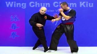 Wing Chun kung fu - wing chun chum kiu training Lesson 12