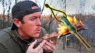 Beginner Bushcraft | Starting Fire with Fire Steel