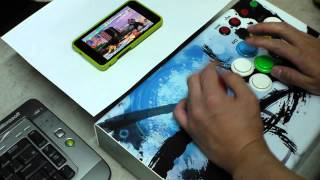 Android Mame Emul Test with Magiclab M3 JoyStick