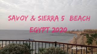 Пляж отелей SAVOY SIERRA 5 Шарм Эль Шейх
