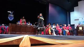 Witsie cheered on as he receives his degree #WitsGraduation thumbnail