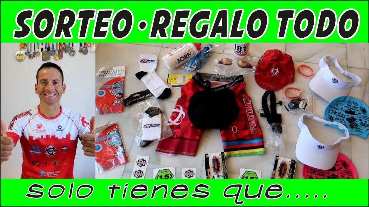 Sorteo Regalos Pack del Triatleta - Playing