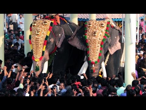 Thrikkadavoor Sivaraju  Vs Chirakkal Kalidasan at Cherai Thalapokkam 2017
