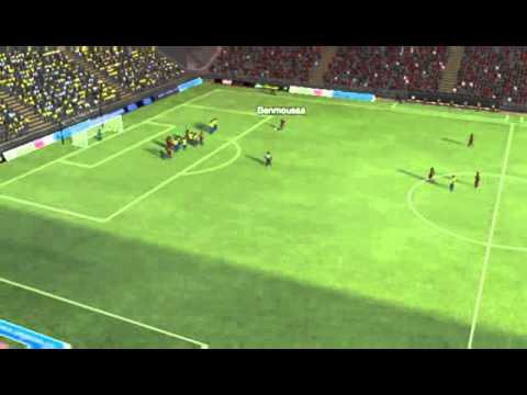 USM Alger vs Petro Atletico   Gol  Benmoussa  21 minut   TV