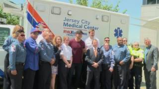 NY Mets' Michael Conforto Delivers Game Tix to JCMC EMS