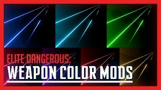 Elite: Dangerous - Weapon Color Mods Review