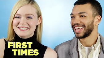 Elle Fanning And Justice Smith Tell Us About Their First Times