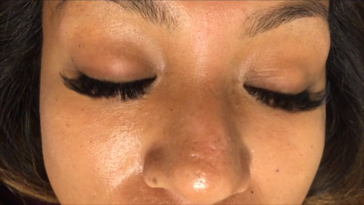 2543ce1ae39 Eyelash Extensions Russian Volume Hawaii Central Oahu - YouTube