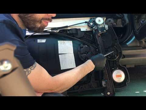 Mini R56 Squeaking Window Regulator Fix