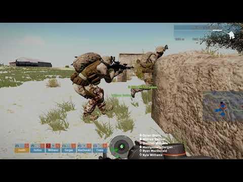 ARMA 3 - Extract Friendly Hostage, F.A.T.A. Terrain, Marine Expeditionary Force vs Takistani Militia
