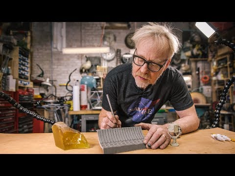Adam Savage's Model Shop Archive Props!
