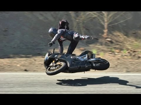 Crazy Highside Motorcycle Crash - YouTube