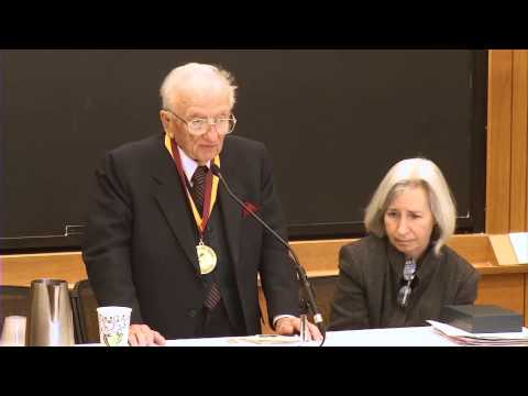 """Law Not War"": A talk by Nuremberg Prosecutor Ben Ferencz"