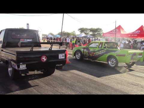Ian Cloete in action - 23 May 2015 - Okahandja Drags - Namibia
