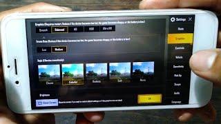 iPhone 6 Pubg test high graphics setting