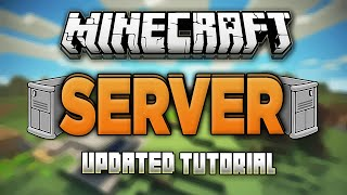 How to Start a Server in Minecraft 1.13.1! (No Hamachi) (Updated)