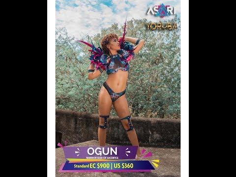 st lucia carnival 2018 costumes - Yoruba - By Asari Tribe