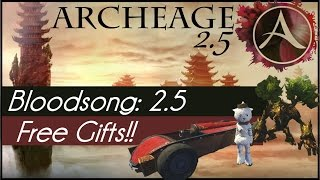 Archeage 2.5: Free Gift Packs!