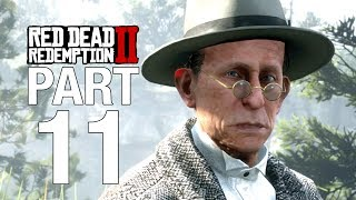 RED DEAD REDEMPTION 2 Gameplay Walkthrough Part 11 - No Commentary [RDR2]