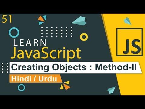 javascript-objects-tutorial---ii-in-hindi-/-urdu