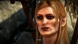 The Witcher 2 Постельная сцена с Рианнон