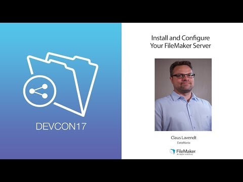 Install and Configure Your FileMaker Server (Deployment 001)