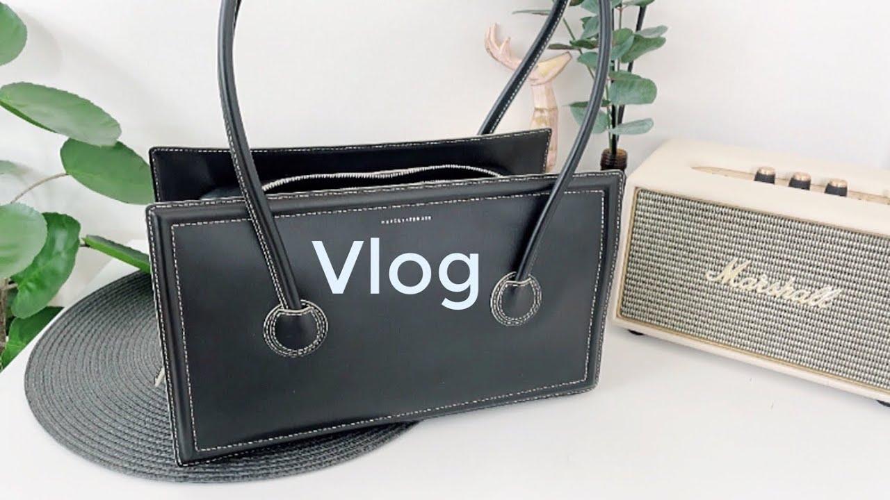 직장인 vlog 겨울부터 봄까지 일상   직장인 가방 언박싱