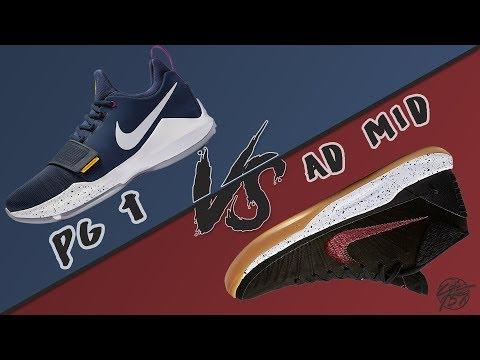 Nike Pg 1vs Kobe AD Mid!