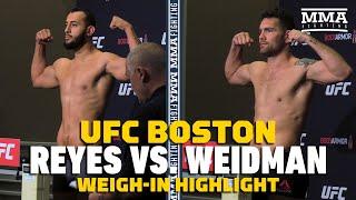 UFC on ESPN 6: Dominick Reyes, Chris Weidman Make Weight - MMA Fighting