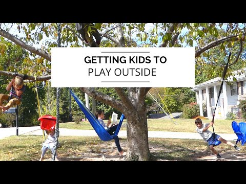 HOW TO GET KIDS TO PLAY OUTSIDE/ OUTDOOR GAME IDEAS/ CHARLOTTE MASON HOMESCHOOL/ WILD + FREE