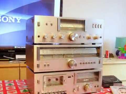 Sony TA-313 + ST-313L + TC-U2  Hi-Fi