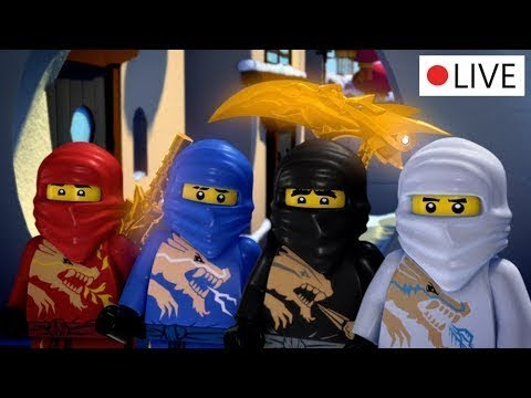 LEGO Ninjago: Spinjitzu Ustaları sezon 3 & 4 bütün bölümleri CANLI 24/7 Türkçe!
