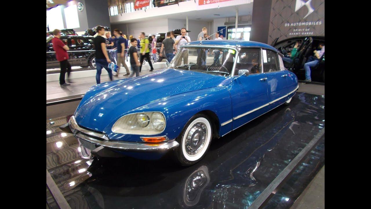 All blue oldtimer car - Citroën