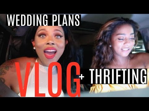 WEDDING PLANS,  THRIFTING + I LOST 5 POUNDS IN 2 DAYS ♡ | CRYSTAL CHANEL | VLOG #6