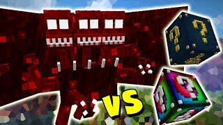 DEMONIO DREADBEAST VS. LUCKY BLOCK (MINECRAFT LUCKY BLOCK CHALLENGE)